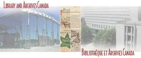 Library and Archives Canada /  Bibliothèque et Archives Canada
